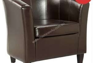 F.E.D. Lounge Chair Mentore 2 Brown - DO-6070BR