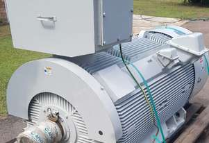 350 kw 4 pole 6600 volt AC Electric Motor