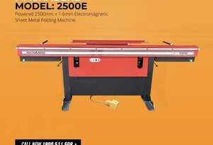 Powered Apron 2500mm Magnabend Electro Folder 240Volt