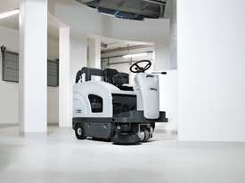 Nilfisk Ride On Sweeper - Battery Model SW4000  - picture0' - Click to enlarge