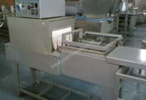 Italpack shrink tunnel & packaging machine