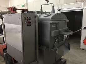 150kg Twin Shaft Mixer (Meat Industry) with Water Injection and Front Discharge. - picture0' - Click to enlarge