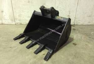 UNUSED 600MM TOOTHED BUCKET TO SUIT 1-2T MINI EXCAVATOR D946