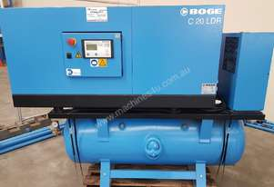 BOGE Screw Compressor C20 LDR In-Built Dryer. POWER SYSTEM PS 2037 DIRECT DRIVE COMPRESSOR + DRYER