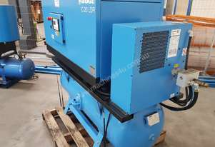 BOGE Packaged Screw Compressor, 2015, C20 LDR 20hp In-Built Dryer, Direct Drive, Germany, Low Hours