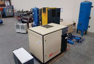 INGERSOLL RAND 15Kw Screw Compressor/Dryer/Tank PACKAGE 1,540 HOURS $7,250. Plus KAESER/PULFORD etc