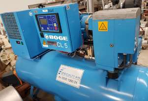 BOGE CL 5/C 10 LDR 3-IN-1 PACKAGED SCREW COMPRESSORS + CHAMPION/INGERSOLL RAND/PILOT/PULFORD