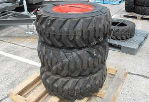 12-16.5 12ply Tyre Rim assembles suit Racoon skid steer loaders