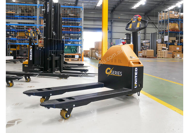 United C-Series NPP15E Electric Pallet Truck | 1.5T Lift Capacity