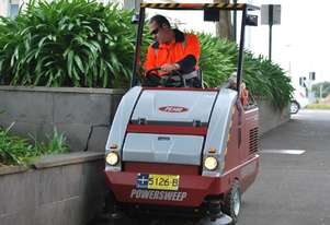 Powersweep PS140 Ride-on Sweeper