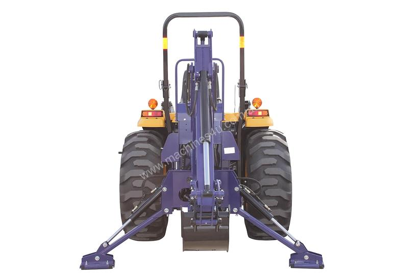 50HP TRACTOR BACKHOE ATTACHMENT, 3 POINT LINKAGE INCLUDES BUCKET