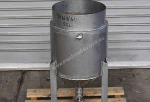 Fallsdell Machinery Jacketed Stainless Steel Tank