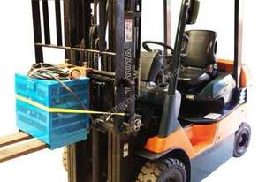 Toyota 2.5T Counterbalance Battery Electric Forklift HIRE from $200pw + GST