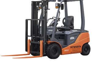 Toyota 2.5T 4 Wheel Battery Electric Forklift for HIRE