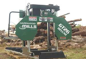 SAWMILLS - GT26 Deluxe Portable Sawmill – Ground Model NEW DESIGN fits bigger log