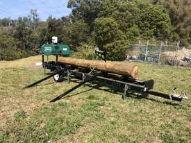 SAWMILLS - PORTABLE BAND SAW MILL - MOBILE LUMBER  - picture4' - Click to enlarge