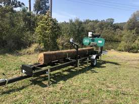 SAWMILLS - PORTABLE BAND SAW MILL - MOBILE LUMBER  - picture9' - Click to enlarge