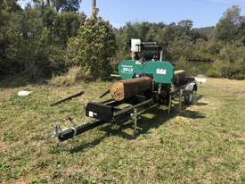 SAWMILLS - PORTABLE BAND SAW MILL - MOBILE LUMBER  - picture12' - Click to enlarge