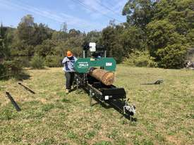SAWMILLS - PORTABLE BAND SAW MILL - MOBILE LUMBER  - picture13' - Click to enlarge