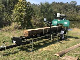 SAWMILLS - PORTABLE BAND SAW MILL - MOBILE LUMBER  - picture16' - Click to enlarge
