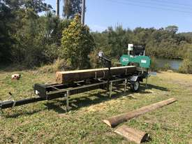 SAWMILLS - PORTABLE BAND SAW MILL - MOBILE LUMBER  - picture17' - Click to enlarge