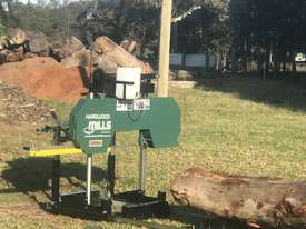 SAWMILLS - PORTABLE BAND SAW MILL - MOBILE LUMBER  - picture2' - Click to enlarge
