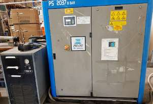 PILOT DCR 37 DIRECT DRIVE 37Kw SCREW COMPRESSOR Incl AIR DRYER - SAVE $24k - SALE TO 15/11/19