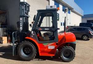 Heli New Rough Terrain Forklifts
