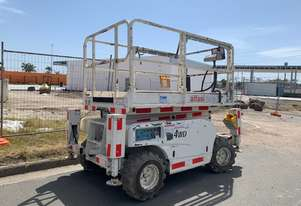 2011 Haulotte Compact 10DX Rough Terrain Scissor Lift