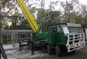 KATO 20 ton mobile crane on Mack 8 x 4 truck