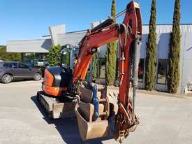 USED KUBOTA U55-4 EXCAVATOR WITH FULL A/C CABIN, QUICK HITCH, 4 BUCKETS, RUBBER TRACKS AND 4036 HOUR - picture5' - Click to enlarge