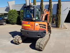 USED KUBOTA U55-4 EXCAVATOR WITH FULL A/C CABIN, QUICK HITCH, 4 BUCKETS, RUBBER TRACKS AND 4036 HOUR - picture11' - Click to enlarge
