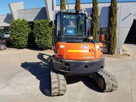 USED KUBOTA U55-4 EXCAVATOR WITH FULL A/C CABIN, QUICK HITCH, 4 BUCKETS, RUBBER TRACKS AND 4036 HOUR - picture12' - Click to enlarge