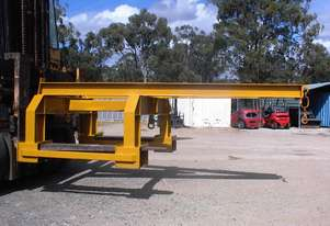 Custom Built Large forklift lifting jib