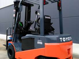 Toyota Forklifts 8FBN25 - picture0' - Click to enlarge
