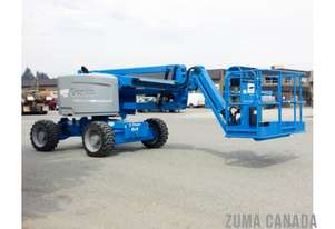 Genie Z45/25J RT - 4 Wheel Drive Diesel Knuckle Boom/Ex DEmo