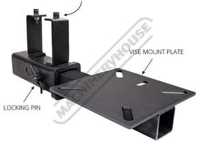 THX8020 Hitch Mount Vice Plate Designed To Fit Up To a 127mm Bench Vice Suits Rhino Cart® Table