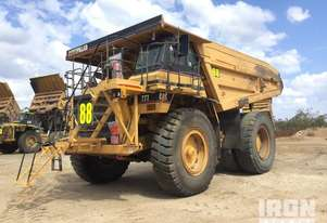 1995 Cat 777C Off-Road End Dump Truck