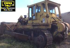 CAT D8H Bulldozer, S/U Blade, Hyster Winch.  MS582