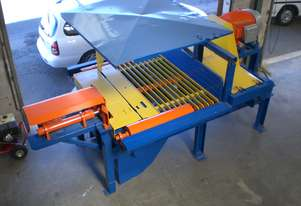 Sawmill 2 Man Bench complete with Jaymor Electronic Setworks overhauled and ready to go.
