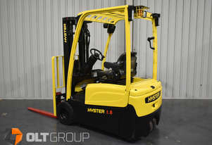 Hyster 3 Wheel Battery Electric Forklift Container Mast 2016 Model Battery 4600mm Lift Height