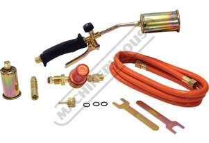 400121 LPG Heating & Brazing Kit Suits LPG Gas 3 x Nozzles:17, 35 & 50mm