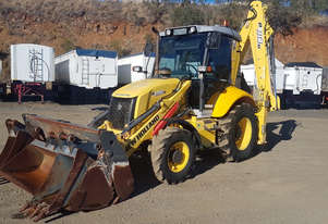New Holland B110B Backhoe Loader Loader