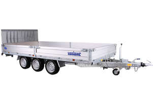 Variant U4 3500 - Tilt Box Trailer With Ramp (14x7 ft)