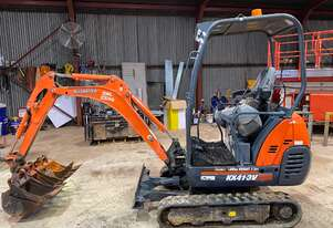 Kubota KX41-3V 1.7T Excavator includes 4 Buckets & Ripper