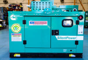 11 KVA Cummins  Single Phase Prime Generator - C10D5P