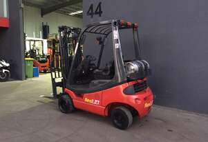 Linde H18-02 Container Mast LPG Counterbalance Forklift - Fully Refurbished