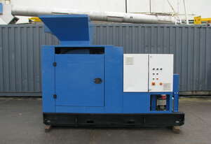 Industrial Shredder Unit with Conveyor and Blower - 2 x 3kW