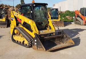 CATERPILLAR 239D TRACK LOADER WITH 1304 HOURS