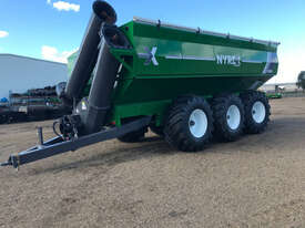 Grain King 46T Haul Out / Chaser Bin Harvester/Header - picture0' - Click to enlarge